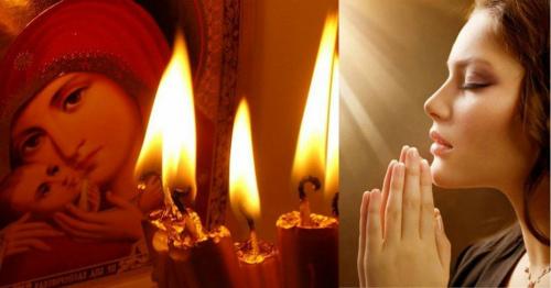 Молитва если ребенок заболел